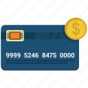 atm, card, coin, credit, debit icon