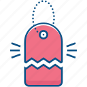cut, label, markdown, offer, sale, tag icon icon