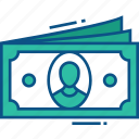 cash, dollar, earnings, money icon icon