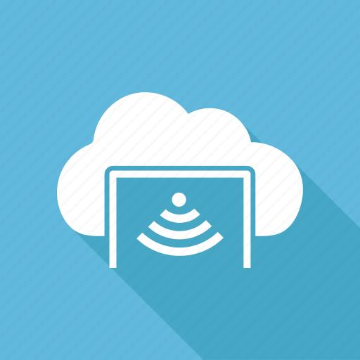 cloud, database, server, storage, wifi icon