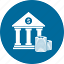 apex court, bank, building, coin, court, court building, dollar icon