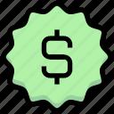 business, dollar, financial, guarantee, label, money, price