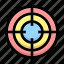 aim, business, financial, focus, goal, target