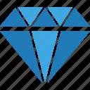 business, diamond, finance, marketing, office icon