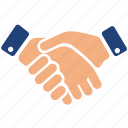 business, finance, handshake, marketing, office icon