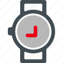 business, finance, marketing, office, watch icon