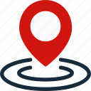 business, finance, map, marketing, navigation, office icon