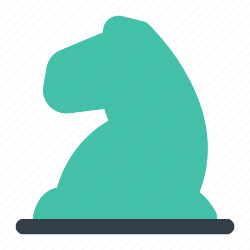 business, chess, company, finance, knight, strategy icon