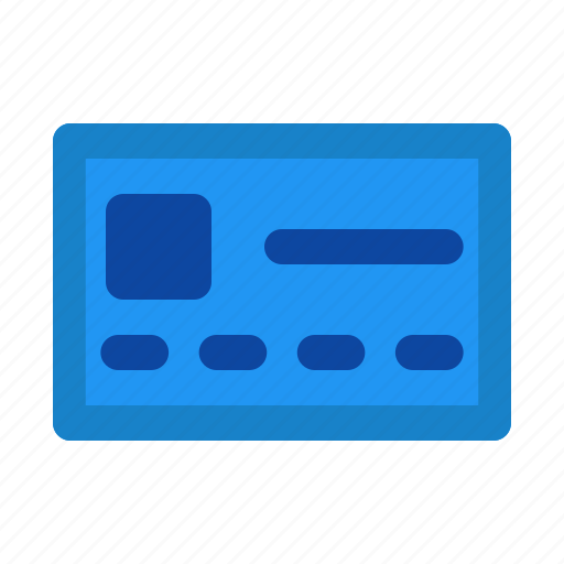card, document, name, paper icon