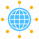 connect, connection, digital, global, internet, network, technology icon