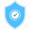 certificate, guarantee, insurance, label, securing, trust, warranty icon