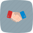 agreement, business deal, handshake icon