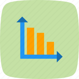 analysis, bar chart, perfomance, productivity icon