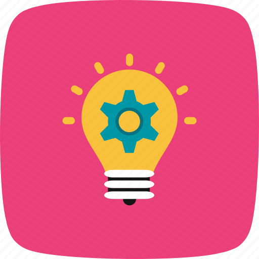 bulb, idea, plan, strategy icon