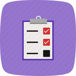 check list, list, task, to do icon
