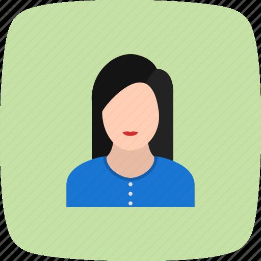 avatar, businesswomen, female, woman icon