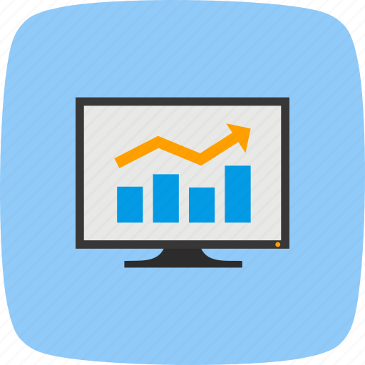 analysis, bar chart, perfomance icon