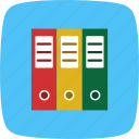 document, files, folder icon