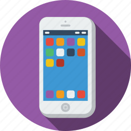 call, chat, communication, grid, internet, message, mobile, mobile apps, phone, talk, telephone icon