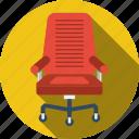 armchair, business, businessman, chair, finance, management, office chair icon