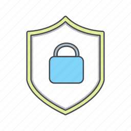 secure, security, shield icon
