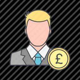 avatar, pound, user icon