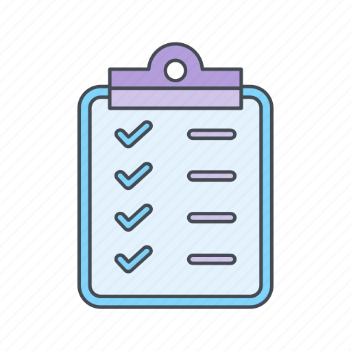 clip board, planning, strategy icon