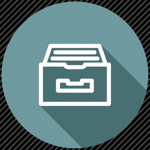 archive, data, directory, documents, files, organize, storage icon
