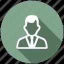 boss, businessman, customer, employee, manager, person, user