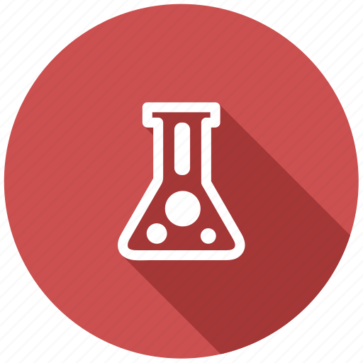 chemical glass, chemistry, flask, laboratory, medical container, retort, test tube icon