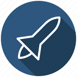 business startup, project start, rocket science, satellite launch, space ship, spacecraft, spaceship icon