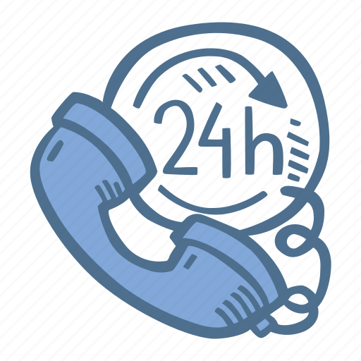 24h, business, customer, finance, service icon - Download on Iconfinder