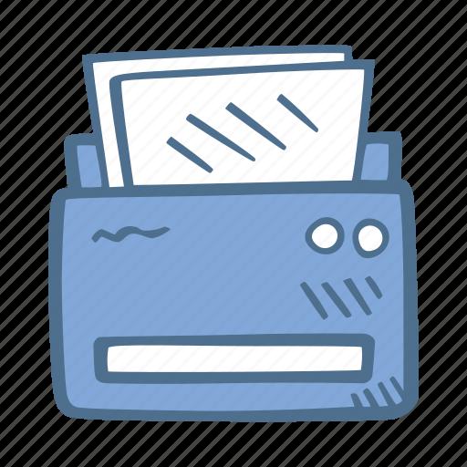 Business, finance, printer icon - Download on Iconfinder