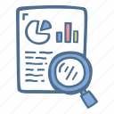 analytics, business, finance, reports icon