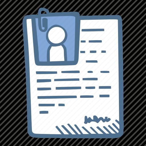 business  cv  finance  resume icon