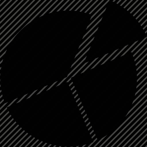 analysis, analytics, circle chart, pie chart, pie graph icon