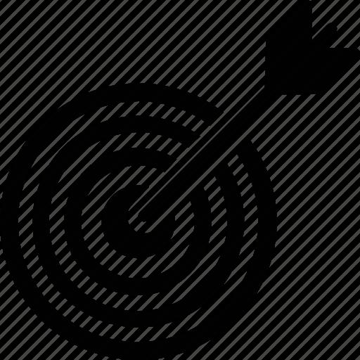 Aim, bullseye, dartboard, focus, target icon - Download on Iconfinder