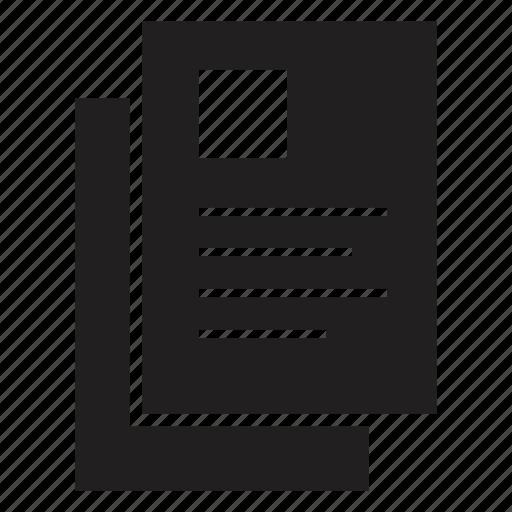 account, cv, profile, resume icon