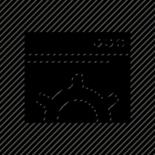 optimization, seo, settings icon
