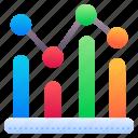 analytics, bar, chart, stats, data
