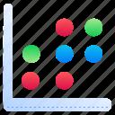 scatter, pot, graph, plot, diagram