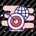 dartboard, opportunity, success, world target