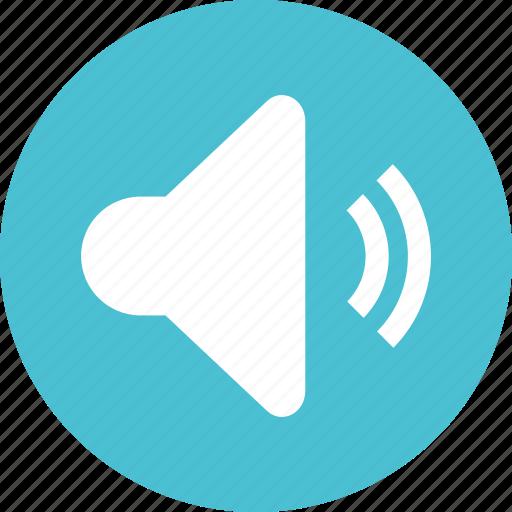 sound, volume, volumeon icon