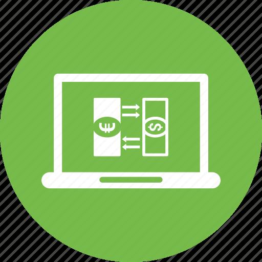 Browser, dollar, laptop icon - Download on Iconfinder