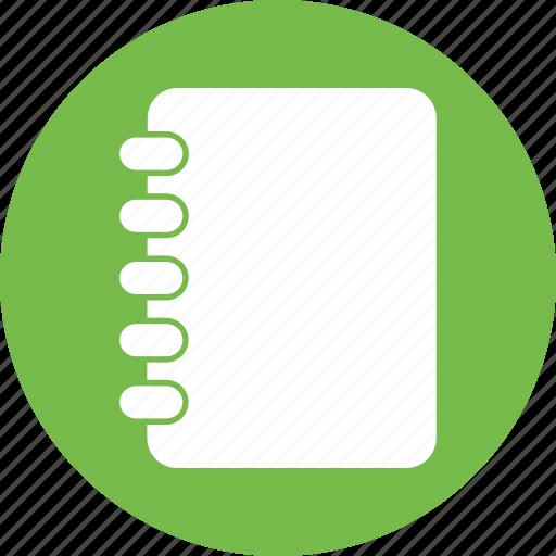 Document, list, education, file icon