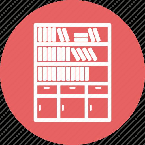 Almirah, almirh, book, data, server icon - Download on Iconfinder