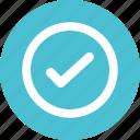 accept, agree, check icon