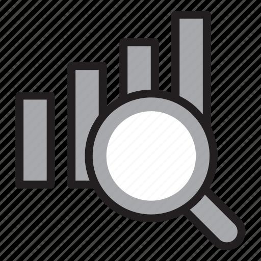 analysis, analyze, growth, performance, productivity icon