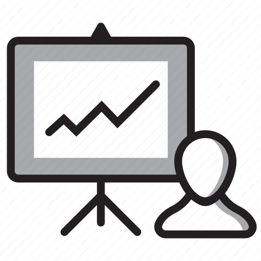 Analysis, growth, performance, presentation, productivity icon - Download on Iconfinder