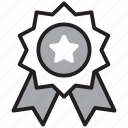 award, badge, prize, reward, seal, winner icon